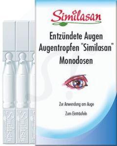 Similasan Entzündete Augen Augentropfen Monodosen 10 Stk.