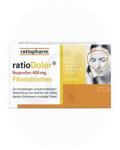 ratioDolor Ibuprofen 400 mg Filmtabletten