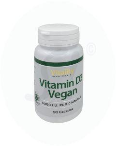 Vitality Nutritionals Vitamin D3 Vegan 90 Stk.
